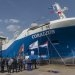 Naming Ceremony Marks First European-Built LNG Bunker and Distribution Vessel