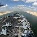 Evergreen Marine Container Ship Blocks Suez Canal