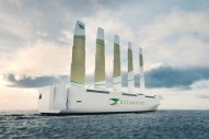 Swedish Companies Announce Wind-Powered Car Carrier Design