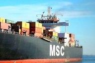 Bunker Barge Strikes MSC Box Ship at Port of Piraeus, MSC Confirms