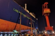 UECC Launches First Hybrid LNG- and Battery-Powered Car Carrier