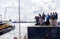 Electric Inland Vessel Named in Rotterdam