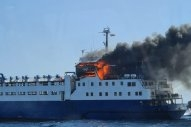 Fire Reported on 54-Year-Old Livestock Carrier Off Tarragona