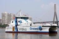 Ørsted Takes Delivery of Battery-Diesel Hybrid Crew Transfer Vessels