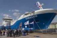 Naming Ceremony Marks First European-Built LNG Bunker and Distribution Vessel
