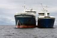 Skangas Marks First Ship-to-Ship LNG Bunkering Operation by Coralius