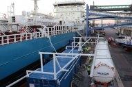 Gothenburg: First Bunker Stem of Liquified Biogas