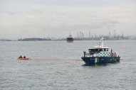 Singapore: Port Conducts Oil Spill Response Exercise