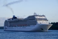 MSC Cruises 2020 Bunker Consumption Was 43% of Expected Level
