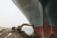 Refloating Ever Given in Suez Canal Will Take 'At Least Until Wednesday'