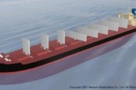 Japanese Firms Design Bulker With Retractable Sails