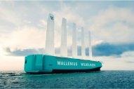 Wallenius Wilhelmsen Plans Wind-Powered Vehicle Carrier