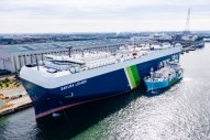 First Ship-to-Ship LNG Bunkering in Japan