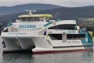 Baleària's Puts New Eco Ferry to Work on Ibiza-Formentera Route