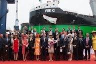ESL Shipping Christens New LNG-Powered Bulk Carrier Newbuild