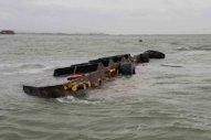 USCG Responds to Diesel Spill from Sunken Barge in San Francisco