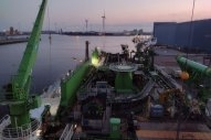 Gas-Powered Cable Installation Vessel Completes Sea Trials