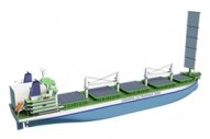 LNG, Rigid Sail, Solar Power Feature in New IMO2030-Focused Bulk Carrier Design