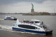 "Update: Newly Christened Ferry Hailed as ""One of the Cleanest Operating in American Waters"""
