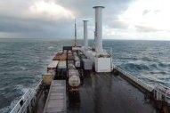 Norsepower Installs Five Tilting Rotor Sails on Vale Bulker