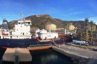 Repsol Mounts 11-truck LNG Bunkering Operation