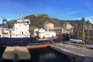 Repsol Mounts 11-truck LNG Bunkering Operation
