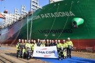 CMA CGM Takes Delivery of its First LNG-Powered 15,000 TEU Boxship