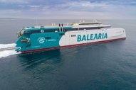 Balearia's Gas-Powered Ferry Undergoes Sea Trials