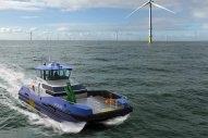 Naval Architects Roger Allan Design Methanol-Fuelled Crew Transfer Vessel