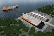 "Houlder Announces New ""Jettyless"" LNG Ship to Shore Bunkering Solution"
