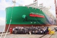 CMA CGM Now Has Nine Giant LNG-Fuelled Boxships