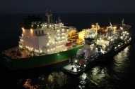 First LNG Bunkering of Aframax Tanker in US