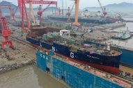 First Avenir LNG Bunker Barge Launched in China