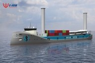 Hybrid, Rotor Sail-Assisted Vessel Promises 14% Fuel Savings