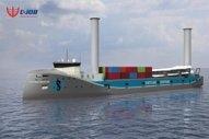 Hybrid, Rotor Sail-Assisted Vessel Promises 14% Fuel Savings