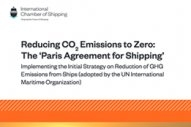 New ICS Publication Examines Shipping's Road to Zero Emissions