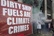 Environmental Protesters Greet IMO Delegates at Start of PPR Subcommittee Meeting