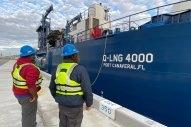 LNG Bunker Barge Arrives at Port Canaveral