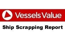 Weekly Vessel Scrapping Report: 2019 Week 31