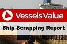 Weekly Vessel Scrapping Report: 2017 Week 15